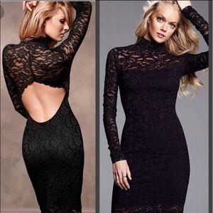 NWOT🌹Moda International black lace dress🌹